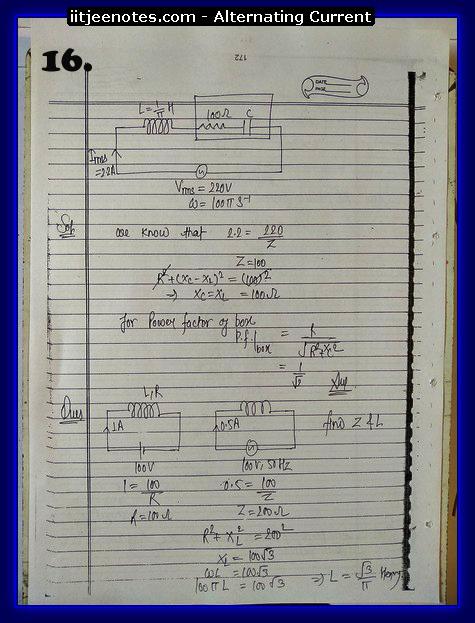 alternating current notes6
