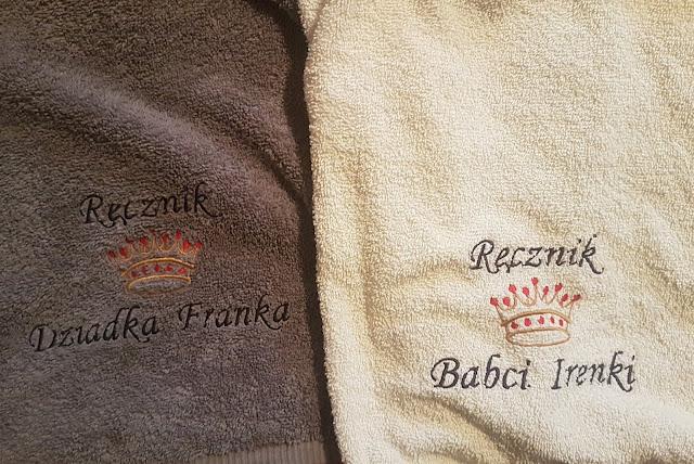 Ręczniki personalizowane