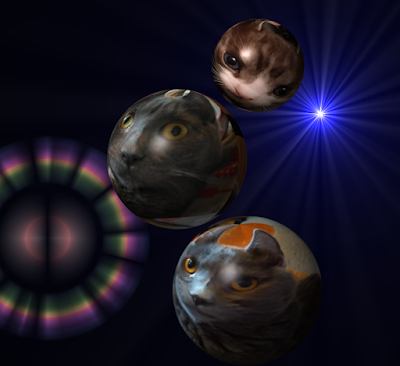 Three kitten planets, plus another planet, and a supernova