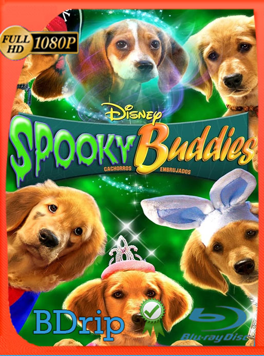 Spooky Buddies: Cachorros embrujados (2011) 1080p BDRip [Google Drive] Tomyly