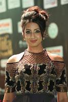 Sanjjanaa Galrani aka Archana Galrani in Maroon Gown beautiful Pics at IIFA Utsavam Awards 2017 29.JPG