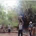 Bhabinkamtibmas Polsek Tragah Kerja Bhakti Bersama Masyarakat Desa Karangleman
