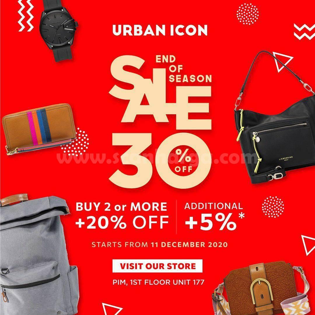 Urban Icon End Of Season Sale 30% Off