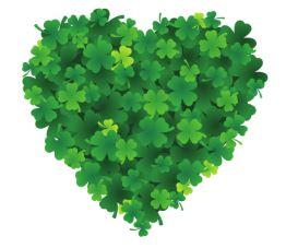 lucky clover heart divider ©BionicBasil®
