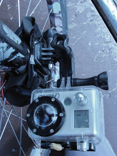GoPro Helmet Mount on MTB Fork