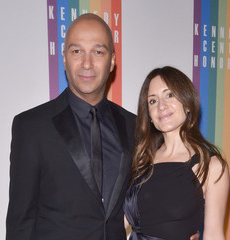 Denise Luiso with her hubby Tom Morello