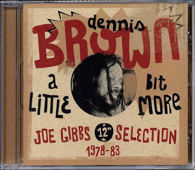 DENNIS BROWN - A Little Bit More - Joe Gibbs 12