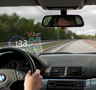 A8 Heads Up Display (HUD) OBDII