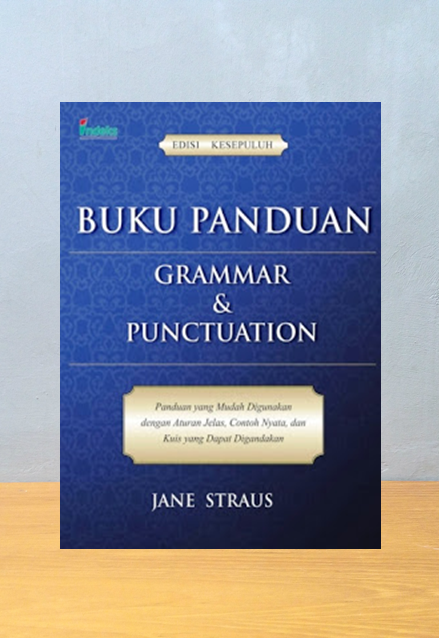BUKU PANDUAN GRAMMAR & PUNCTUATION, Jane Straus