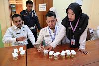 Inspektorat Gandeng BNN Tes Urine, Hasilnya Semua Pegawai Bebas Narkoba