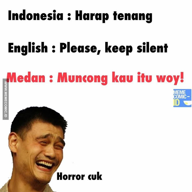 10 Meme Lucu 'Bahasa Indonesia VS Bahasa Daerah' Ini Bikin Ngakak Parah