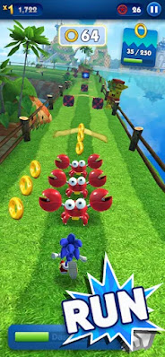 Screenshot Sonic Dash