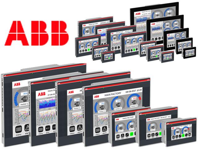 ABB CP600 PLC control panel
