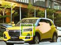 Harga dan Fisik : Lampu Depan Kiri Daihatsu ROCKY 2021 / Toyota Raize (Full LED)   81150-BZ800-001