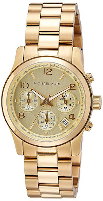 Michael Kors Midsize Chronograph Watch $135 (reg $250)