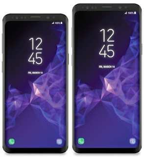 Latest Galaxy S9 and S9 Plus render leak show off their big displays