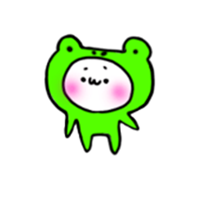 animal suit frog