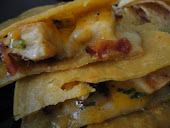 Cheesy Chicken and Bacon Quesadillas