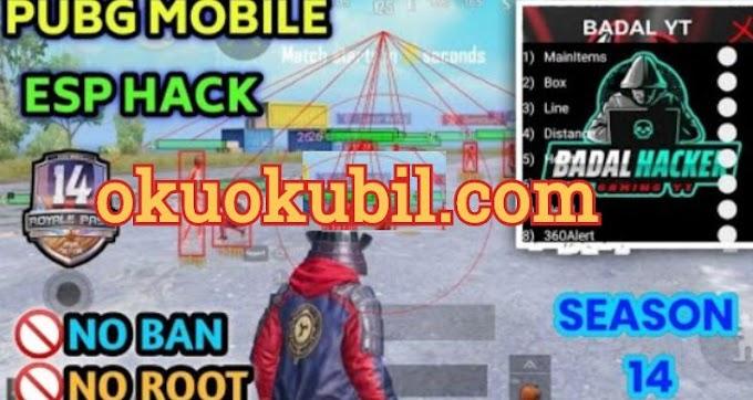 Pubg Mobile 0.19.0 HACK BADAL ESP Menu No Root Antı-Ban 2020