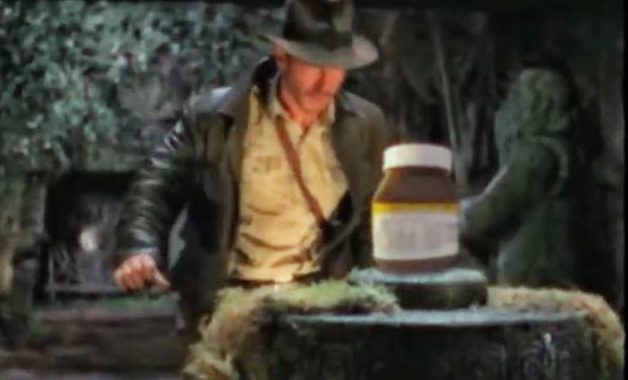 indiana jones nutella