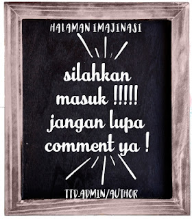 WELCOME TO HALAMAN IMAJINASI