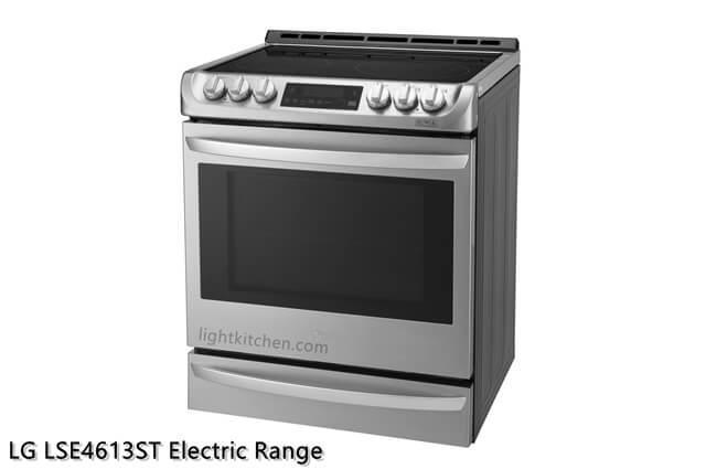 LG LSE4613ST Electric Range