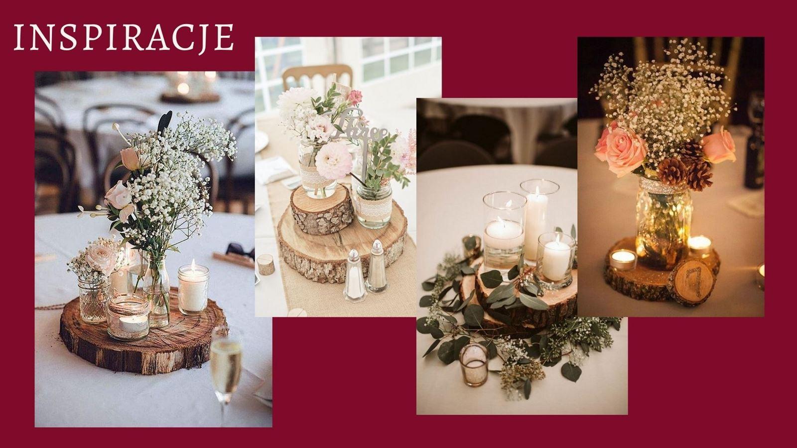 5 weselne diy wedding decoration ideas pomysły jak tanio udekorować zrobić samemu dekoracje na salę weselna na stol dla gosci co kupic male bukiety na stoly weselne dodatki tanie dekoracje na slub