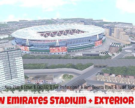 PES 2017 Emirates Stadium + Exterior
