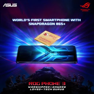 New phone from ASUS - ROG phone 3 gaming smartphone