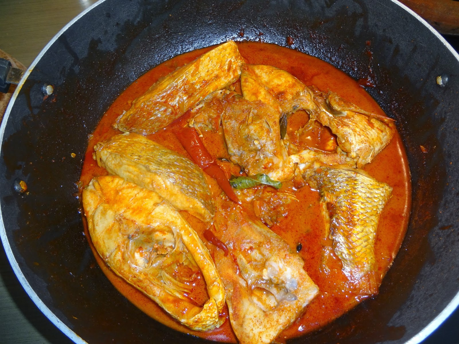 Suma's Recipes: Red Snapper Curry