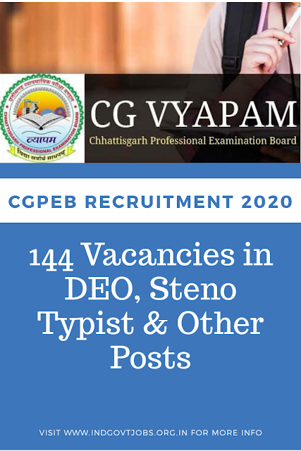 CGPEB Recruitment