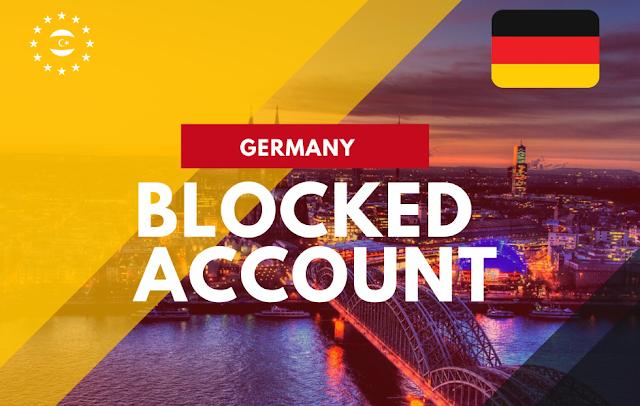 معلومات فتح حساب طالب مجمد لغرض الدراسة في ألمانيا