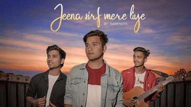 Jeena Sirf Mere Liye (Refix Version) Lyrics - Rawmats