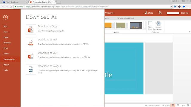 tutorial, powerpoint, microsoft office, powerpoint online,presentasi,