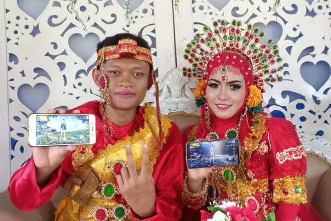 Ketemu di Map Severny PUBG Mobile, Dua Pemain Game Ini Akhirnya Menikah di Balikpapan