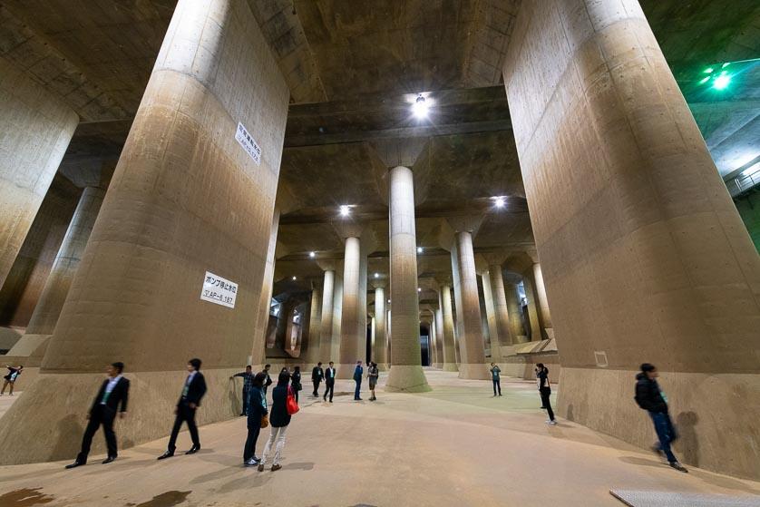 Tokyo Underground Tunnel