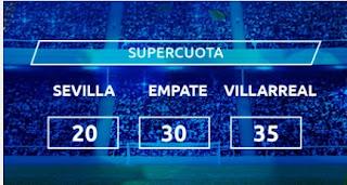paston Supercuota Sevilla vs Villareal