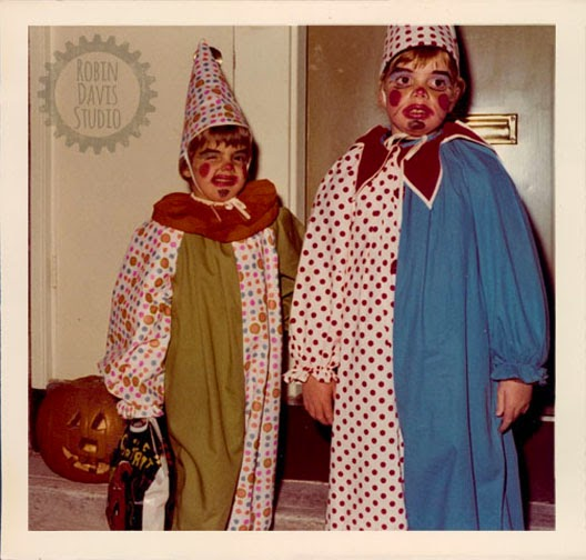 My sister Al & I on Halloween 1972 | Robin Davis Studio