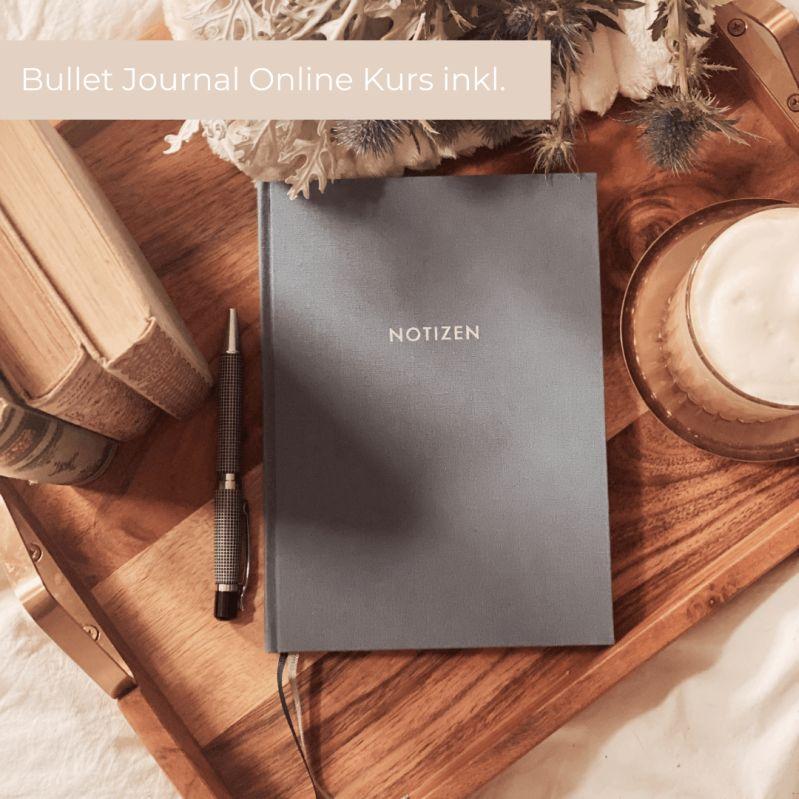 Handgefertigtes Notizbuch aus dem Papeterie-Shop der Münchner Landpomeranze