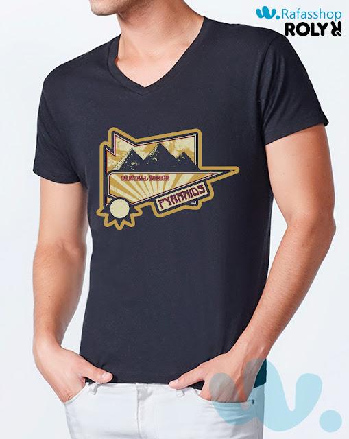 Camiseta Vegas 6549 Roly Hombre Manga Corta