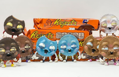Smeye World Exclusive REJECTS Frozen Terror Edition Vinyl Figures by One Eyed Girl x Martian Toys