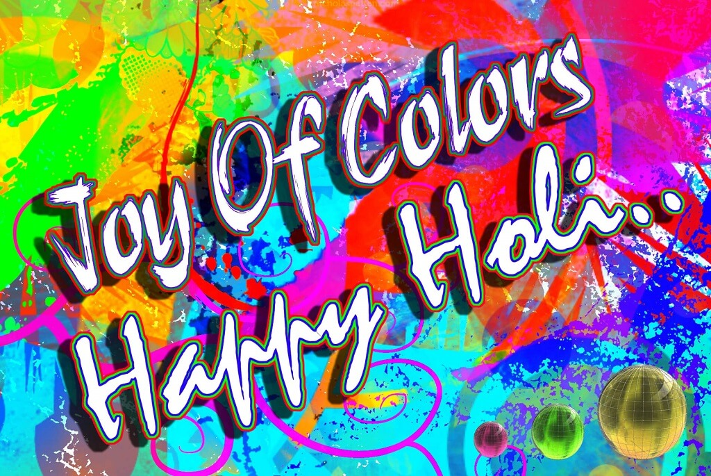Happy Holi Greeting Cards for Facebook
