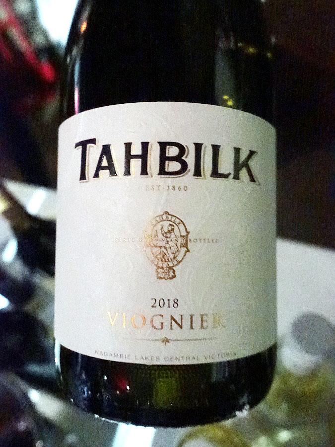 Tahbilk Viognier 2018 (88 pts)