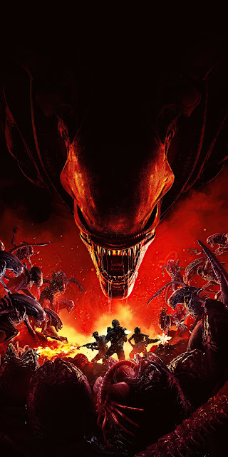 Aliens Fireteam Elite Desktop HD Wallpaper