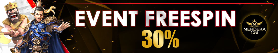 EVENT FREE SPIN 30%