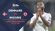 Denmark vs Inggris UEFA 2020, Three Lion Siap Ambil Poin Penuh