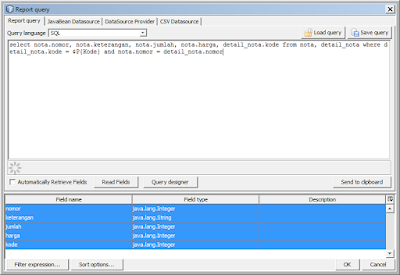 Kelas Informatika - Report Query Java Netbeans