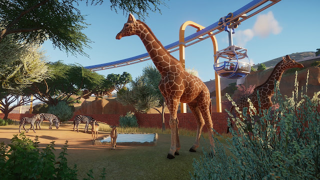 Planet Zoo giraffe