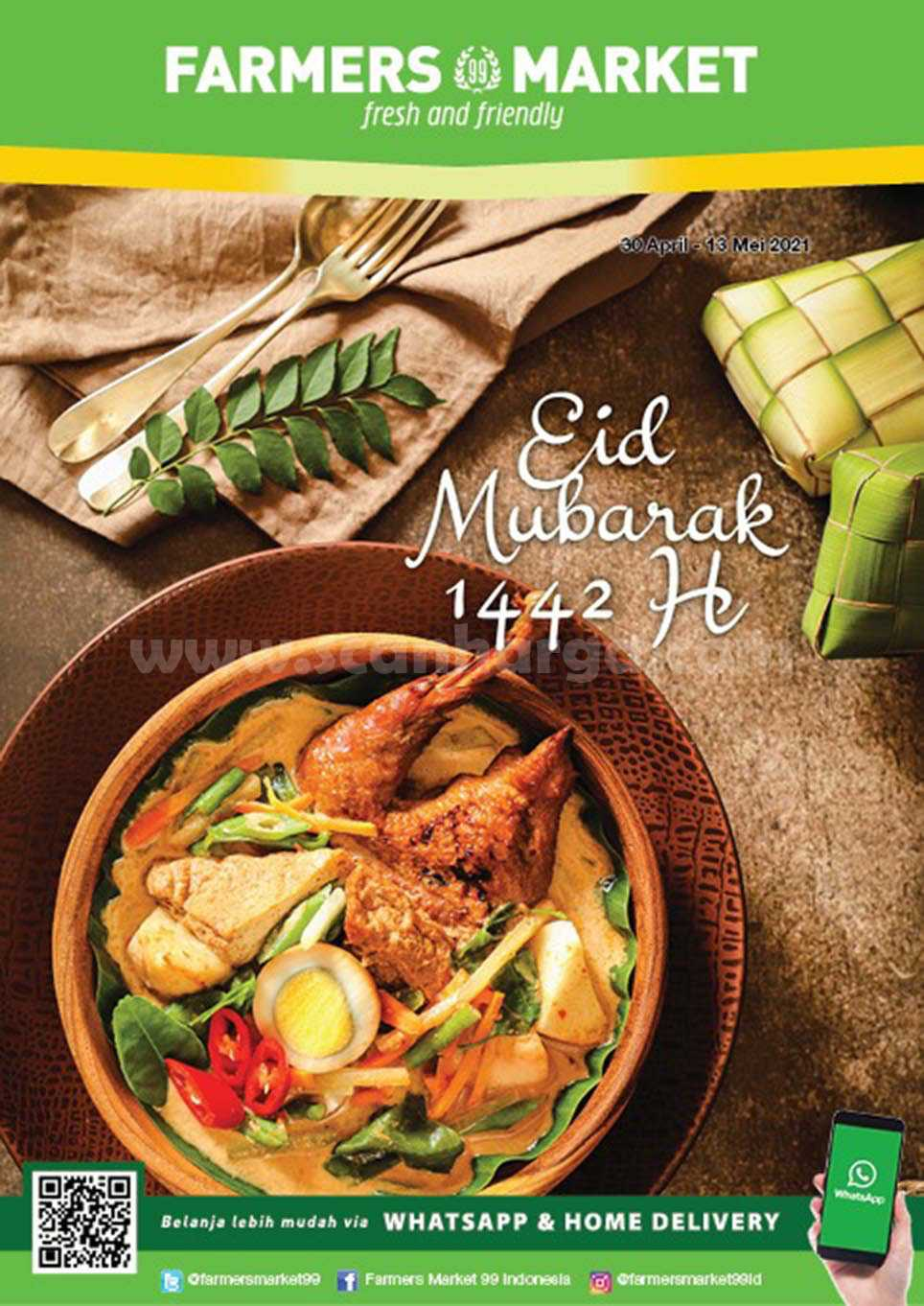 Katalog Promo Farmers Market Terbaru 30 April - 13 Mei 2021