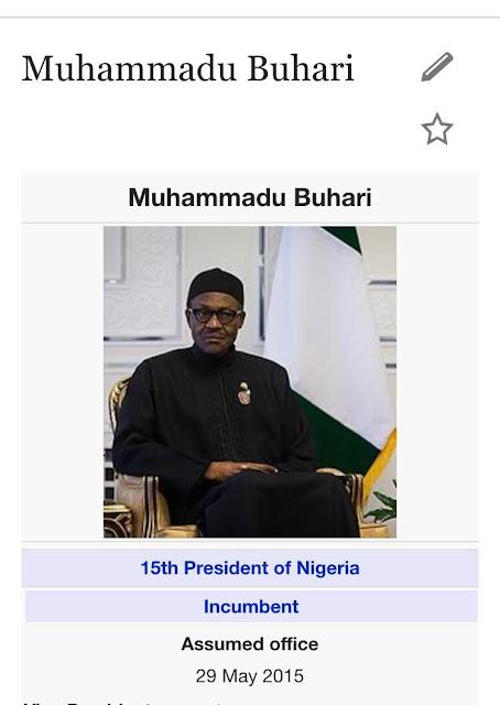 Nigerians eeeeeh!..President Buhari now have a nickname